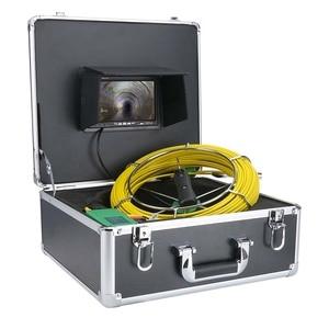 Image 5 - MOUNTAINONE 7 بوصة 17 مللي متر الأنابيب المجاري التفتيش كاميرا فيديو استنزاف الأنابيب أنبوب تصريف بكاميرا مراقبة نظام 1000 TVL 20 متر 30 متر 40 متر 50 متر