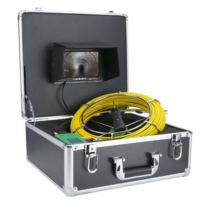 Image 5 - Mountainone 7 インチ 17 ミリメートルパイプ下水道検査ビデオカメラ排水管下水道検査カメラシステム 1000 tvl 20 メートル 30 メートル 40 メートル 50 メートル