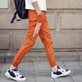 2016 summer loose casual male slim ankle length trousers fashion all-match 200-k04-p25