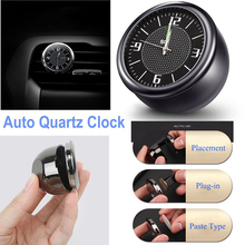 1 X Car Quartz Clock Watch Digital Luminous Refit Interior Decoration Ornaments