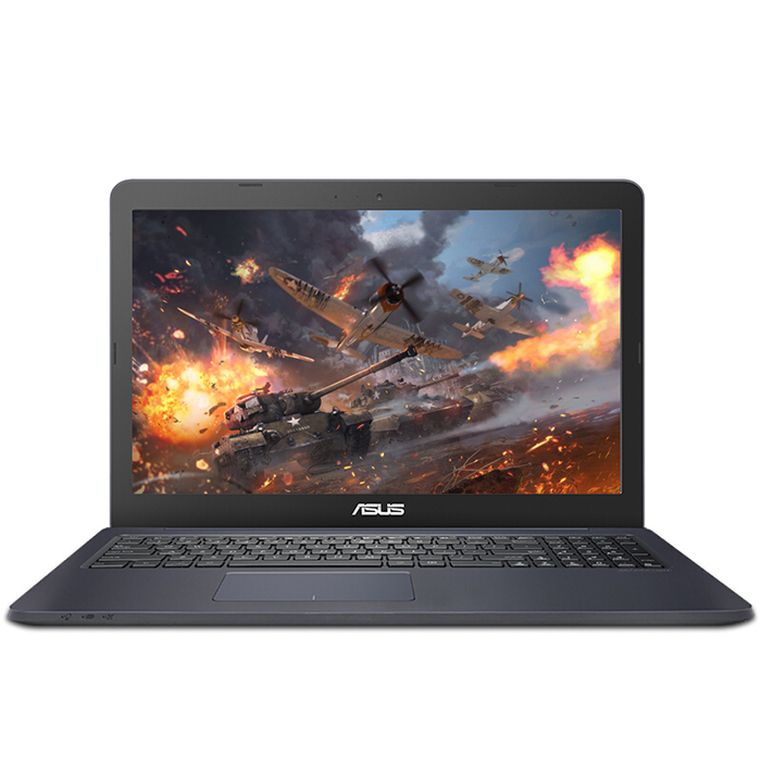 ASUS A555BP9010 Cahier 15.6 ''Windows 10 Pro Ordinateur Portable AMD E2-9010 Dual Core 2.0 ghz 4 gb RAM 128 gb SSD HDMI Caméra Version Anglaise