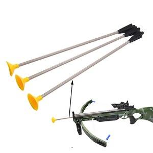 Image 4 - 15 sztuk łucznictwo Sucker strzały bezpieczeństwo miękkie gumowe grot strzały dzieci kusza gry sportowe zabawki dla dzieci ogród strzał akcesoria treningowe