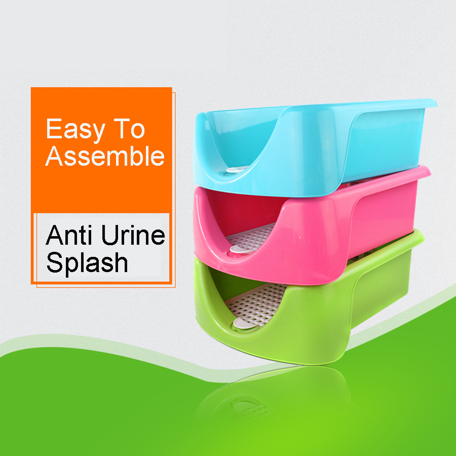 Puppy Cleaning Set Dogs Toilet Urine Training Pets Dogs Poop Scooper Tray Urinals Bedpan Toilette Chiot Pet Clean Product 80Z185