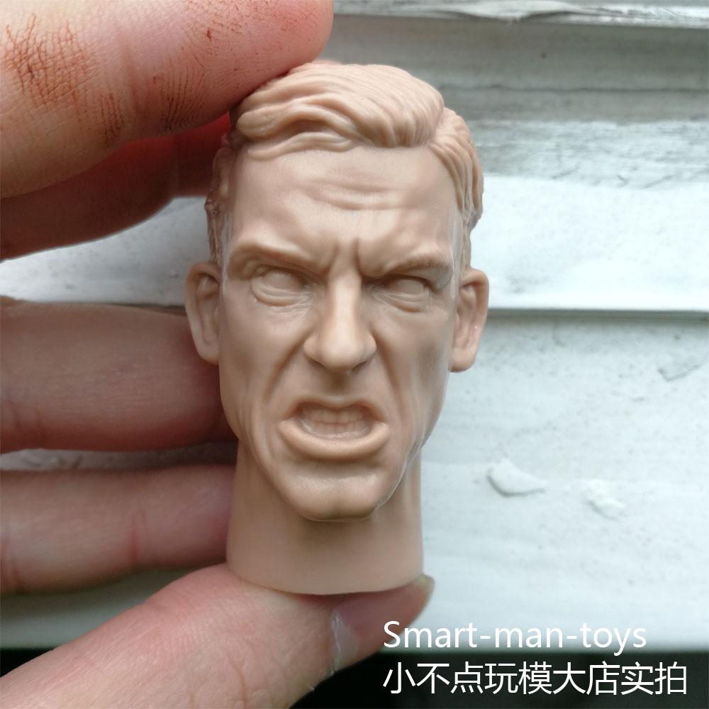 1//6 Male Head Doctor Strange Benedict Cumberbatch Sculpt Model Toy PVC Carved