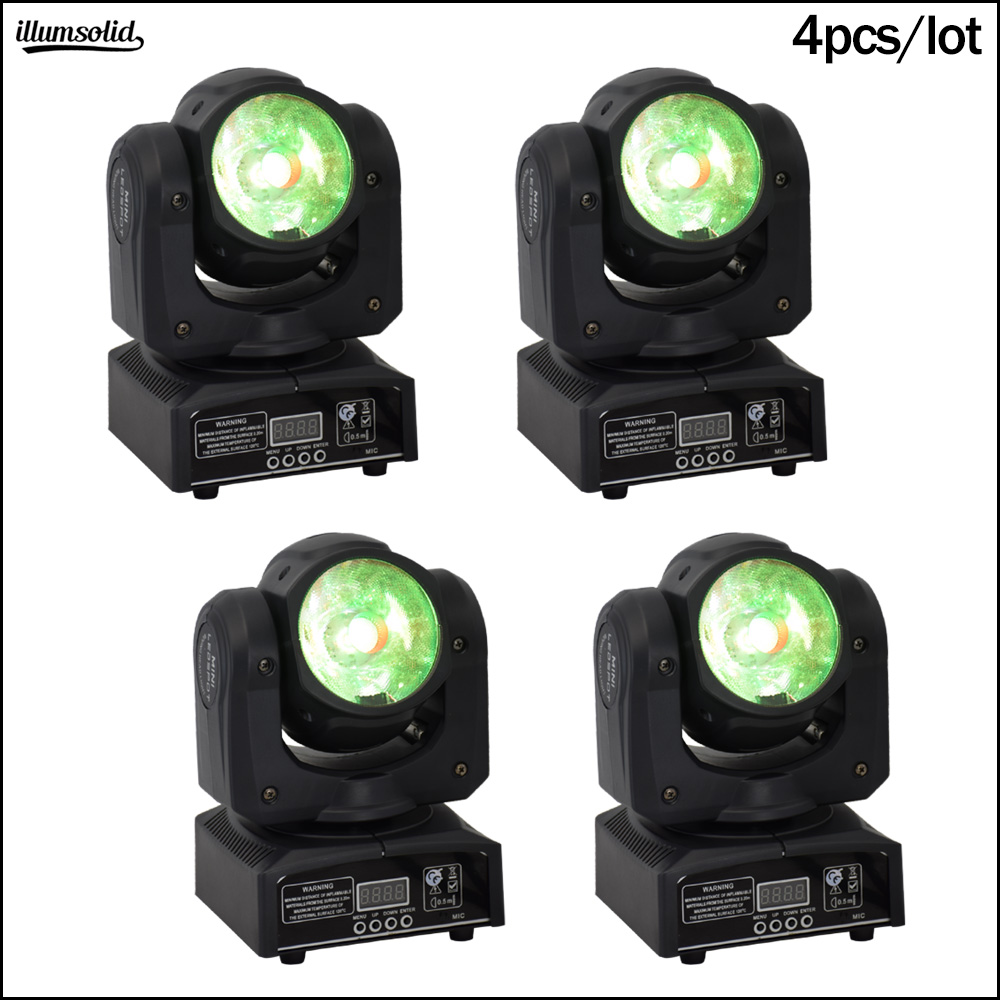 mini 60w 4in1 stroboscope stage beam moving head verlichting 4pcs/lot-in Stage Lighting Effect from Lights & Lighting    1