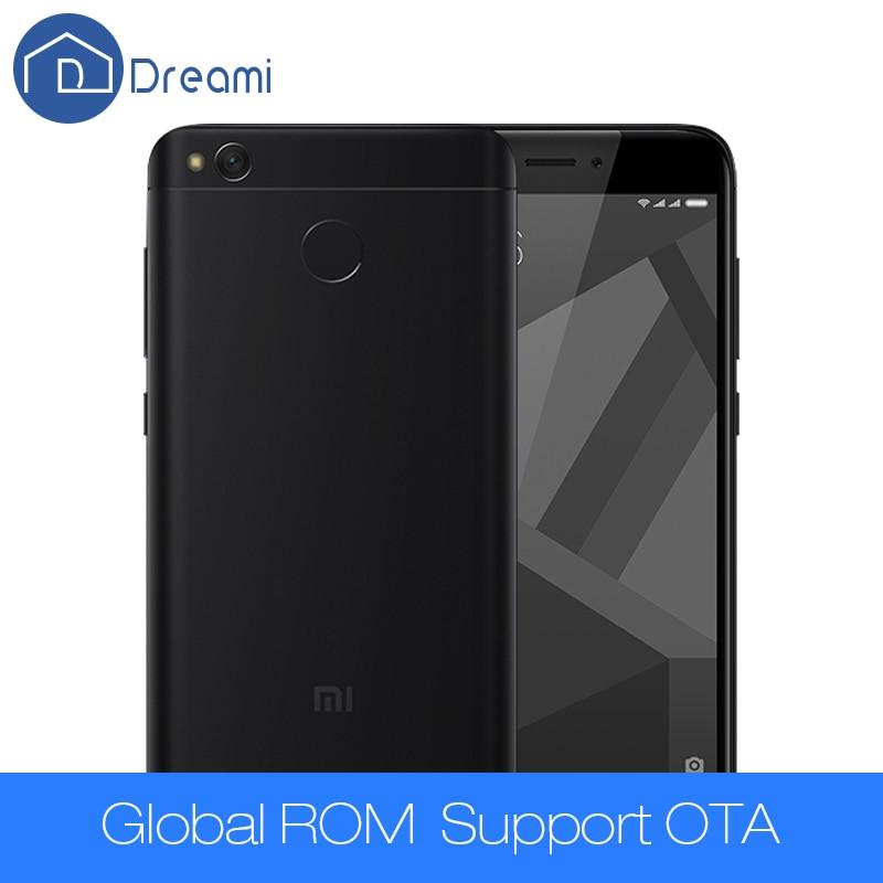"bilder für Dreami Original Xiaomi Redmi 4X4X2 GB RAM 16 GB ROM Miui 8 Handy Snapdragon 435 Octa-core 5,0 ""4100 mAh Offizielle"