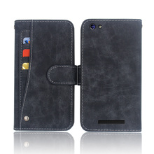 Hot! Jinga Hotz M1 Case High quality flip leather phone bag cover case for with Front slide card slot