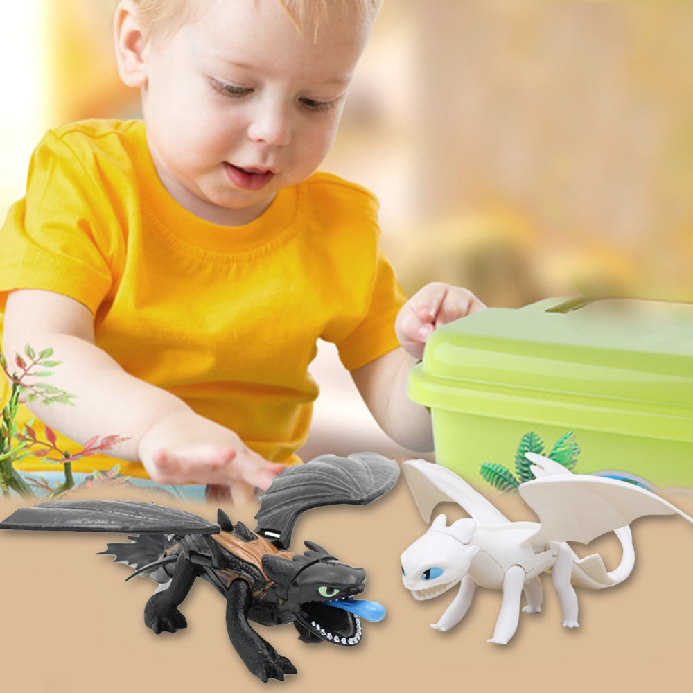 2019 New 25cm-30cm Toothless Night Fury Plush How To Train Your Dragon Plush Toy Doll For Drop Shipping