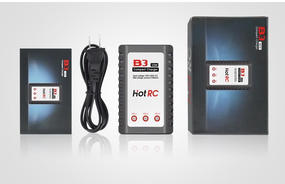 1 stk Hot RC Imax B3 LIPO batterilader B3 7.4v 11.1v Li-polymer Lipo - Fjernkontroll leker - Bilde 6