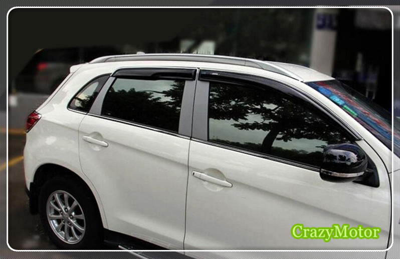 Silver Roof Rack Luggage Rails Bars For Mitsubishi ASX / Outlander sport 2013 2014 2015 2016 (NOT For Mitsubishi Outlander ) black color top roof rails rack luggage carrier bars for mitsubishi asx outlander sport 2013 2014 2015 2016