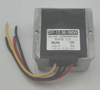 Преобразователь DC/DC 12 В (9 В 20 В) Шаг до 36 В 5A 180 Вт Водонепроницаемый Boost регулятор 10 шт.