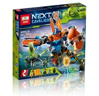 Lepin 14043 Knights of the future high tech magic armored Ares Model Building Blocks Toys For Children LegoINGlys 72004