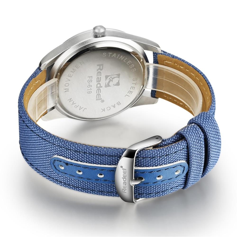 Readeel Brand Fashion Men Sport Watches Men's Quartz Hour Date Clock Man Military Army Waterproof Wrist watch kol saat erkekle 5