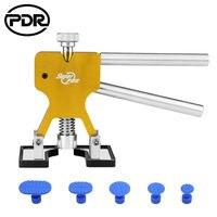 Dropshipping PDR 도구 Paintless Dent Repair Removal 덴트 풀러 리프터 흡입 컵 탭 핸드 툴 세트