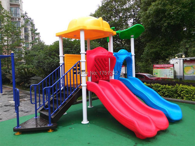 Eco Friendly Children Playground Equipment CE Certified Kids Outdoor Play  Toys Direct Factory HZ