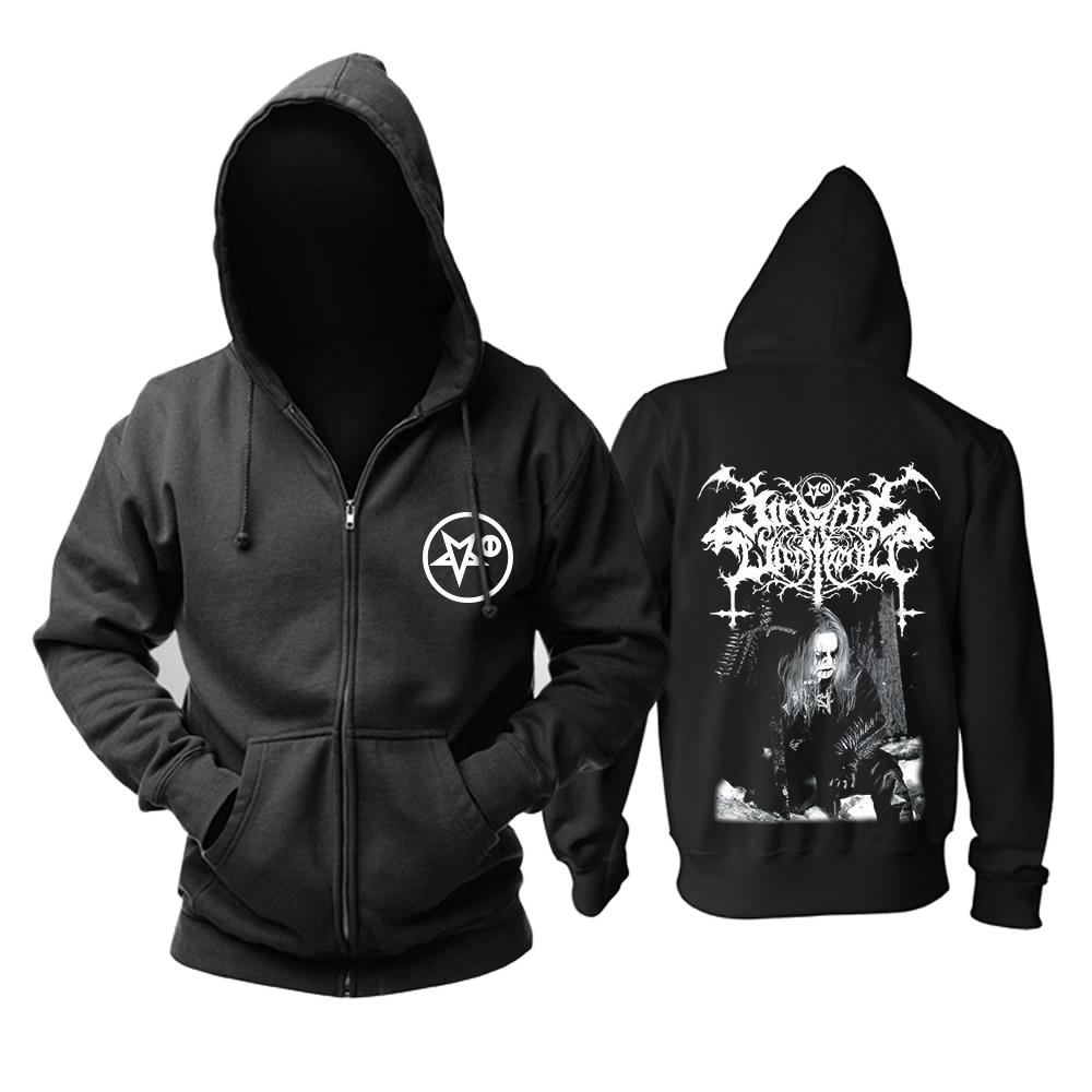 Bloodhoof satanic warmaster Carelian Satanist Madness black metal hoodie Aziatische Grootte-in Hoodies en sweaters van Mannenkleding op  Groep 1