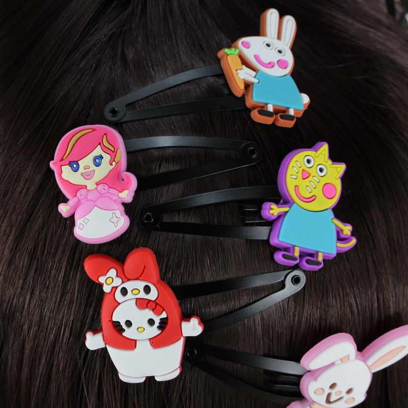 isnice Hair Clip of hairgrips 10pc/Lot High Quality Hair Accessories of Character BB Clips School Girl 2-10 Years Hair Ornaments