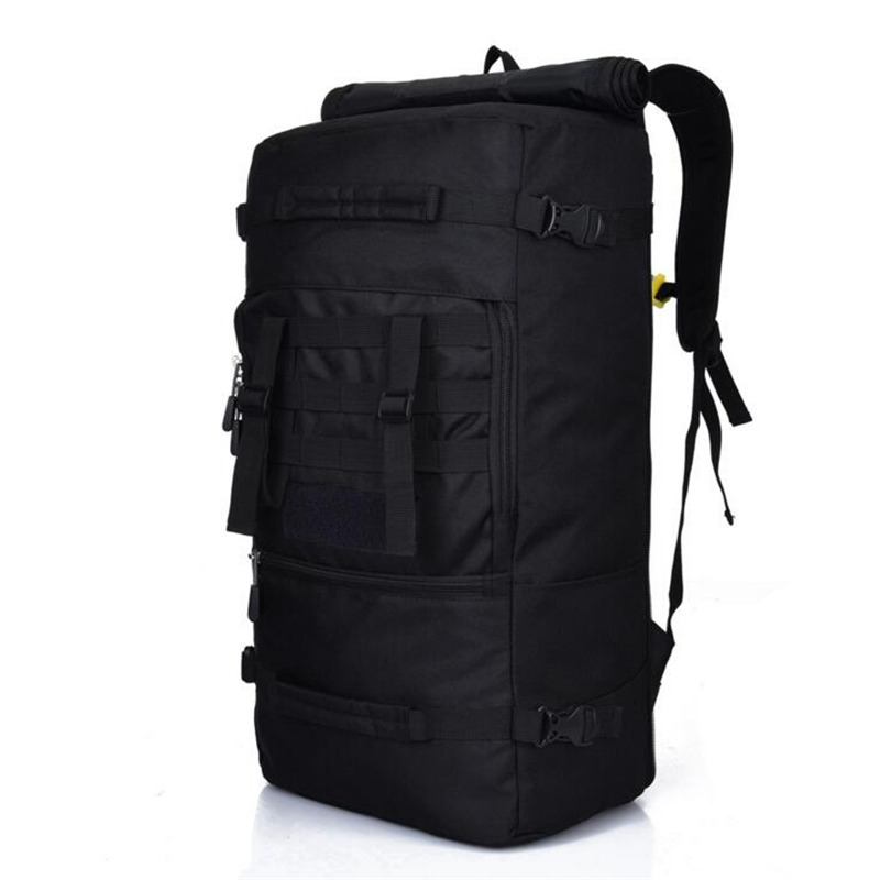 50L Military Men's Backpacks Bolsa Mochila for Laptop 14 Inch 15 Inch Notebook Computer Bags Men Backpack School Rucksack J10 bagsmart new men laptop backpack bolsa mochila for 15 6 inch notebook computer rucksack school bag travel backpack for teenagers