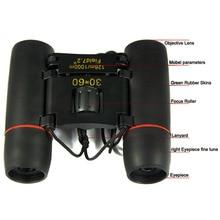 Professional Folding 30X60 Binoculars Zoom Night Day Vision High Power Binocular Monocular Pocket Binoculars For Hunting Travel