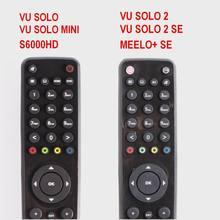 שלט רחוק לvu סולו/סולו מיני/Solo2/סולו 2 SE/VU Duo X/VU +/MEELO + SE, openbox S6000HD, SunrayBox.