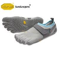 Vibram Fivefingers V Aqua Резина пять пальцев водные виды спорта скольжению Воздухопроницаемый Легковесный 2018 дизайн воды обувь для мужчин