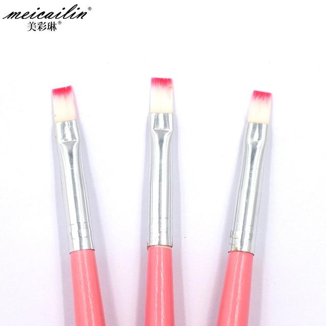 Professionals 1Pcs Nail Brush Pen Acrylic UV Gel Nails Art Pencil ...