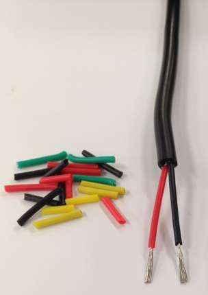 20m 2 Core Silica Gel Wire 1.5 Square Soft Silicone Cable YGG Multicore 2X1.5 High Temperature Wire Sheath Cable
