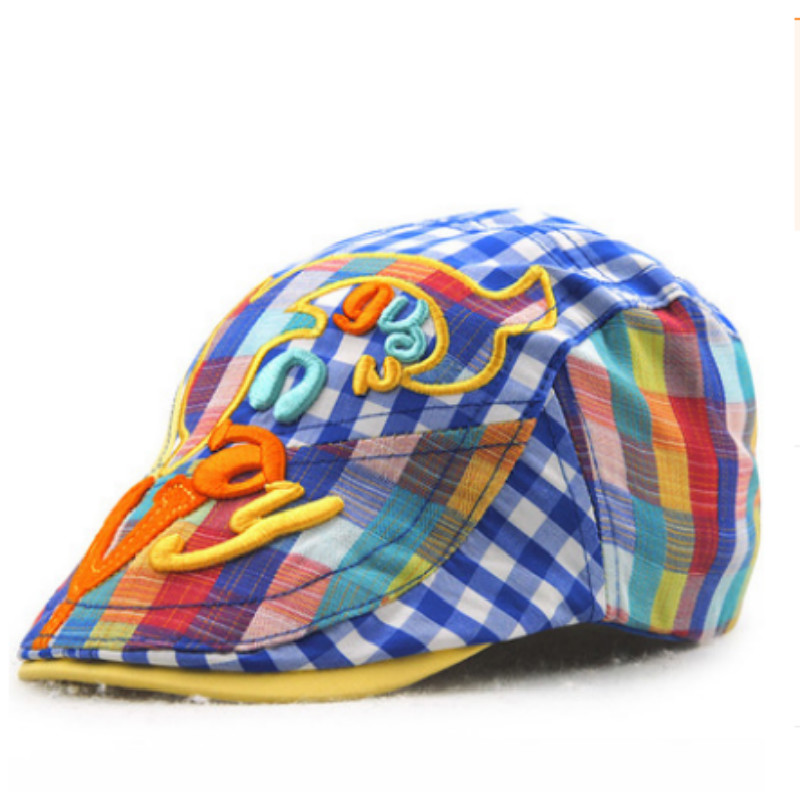 L 2-4yr 6-12m The Childrens Place Newsboy Hat Cabbie Cap Blue Striped Size S