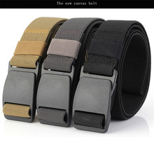 ENNIU Men Army Belt Nylon Leisure Tactical Belts Man Male Alloy Buckles High Quality Strap Waistband Jeans Accessories