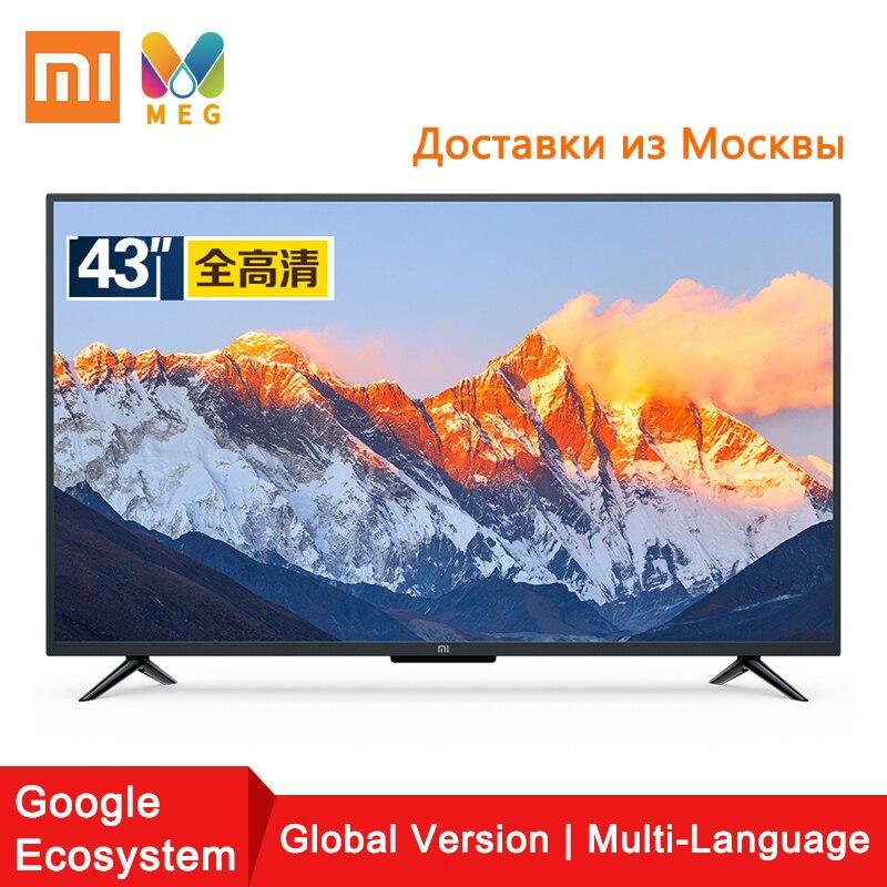 Télévision Xiaomi TV andriod smart TV LED 4A Pro 43 pouces HDMI WIFI 1GB + 8GB version mondiale | multi langue