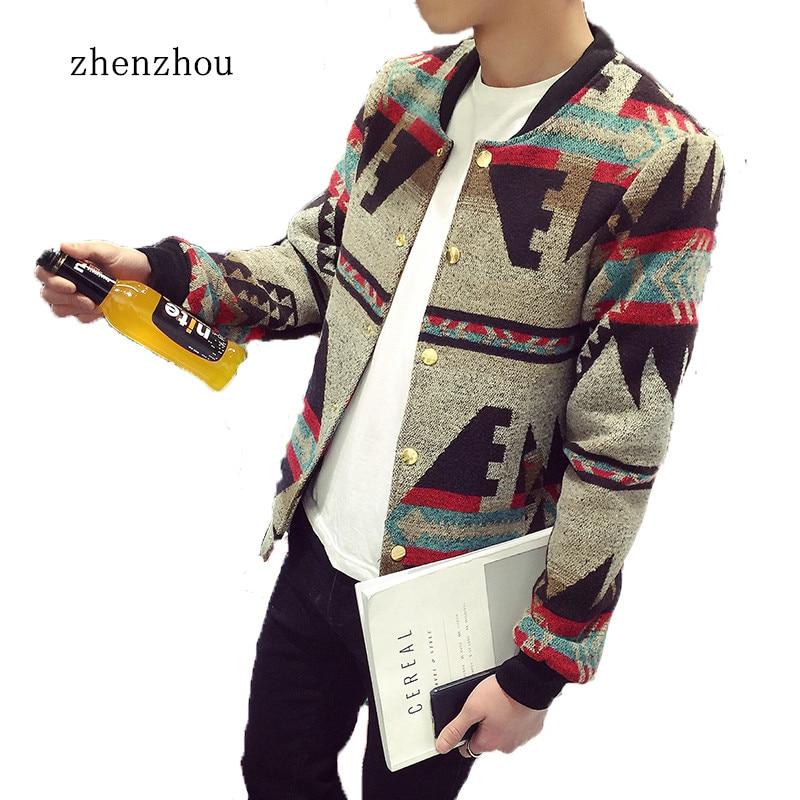 Куртка чоловіча бомбардувальник 2018 Осінь куртка чоловіча печворк Друк фліс зимова куртка чоловічі куртки чоловіки плюс розмір M-5XL Chaquetas Hombre
