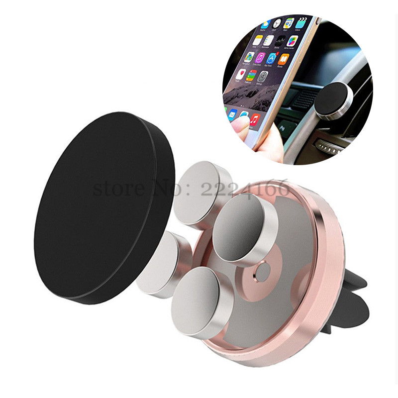 Lonleap Universal Car Magnetic Mobile Phone Holder Air Vent Mount Stand for Iphone Samsung Xiaomi HTC LG Car-styling Parts