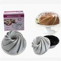 New Heavy Cast Aluminum Windspout Cake Pan Nonstick Metal Baking Cake Mold DIY Kitchen Bakeware Supplies Cake Baking Dishes