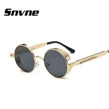 Фотография Round sunglasses Women Classic Steam punk for men Steampunk oculo gafas Oculos De Sol lunette soleil feminino mujer masculino