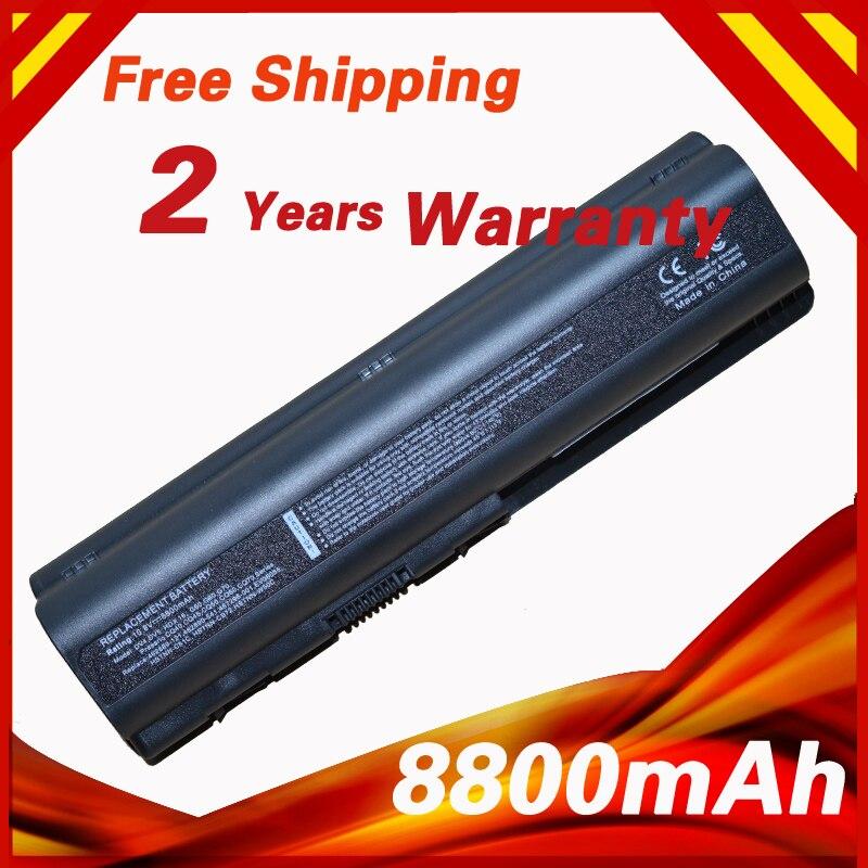 8800mAh  Laptop Battery For HP  HSTNN-IB72 HSTNN-IB73 HSTNN-IB79 HSTNN-LB72 HSTNN-LB73 HSTNN-Q34C HSTNN-UB72  HSTNN-UB73