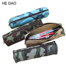 1 Pcs Camouflage Pencil Case For Boys And Girls School Supplies Zipper Pouch 4 Colors Pencil Bag