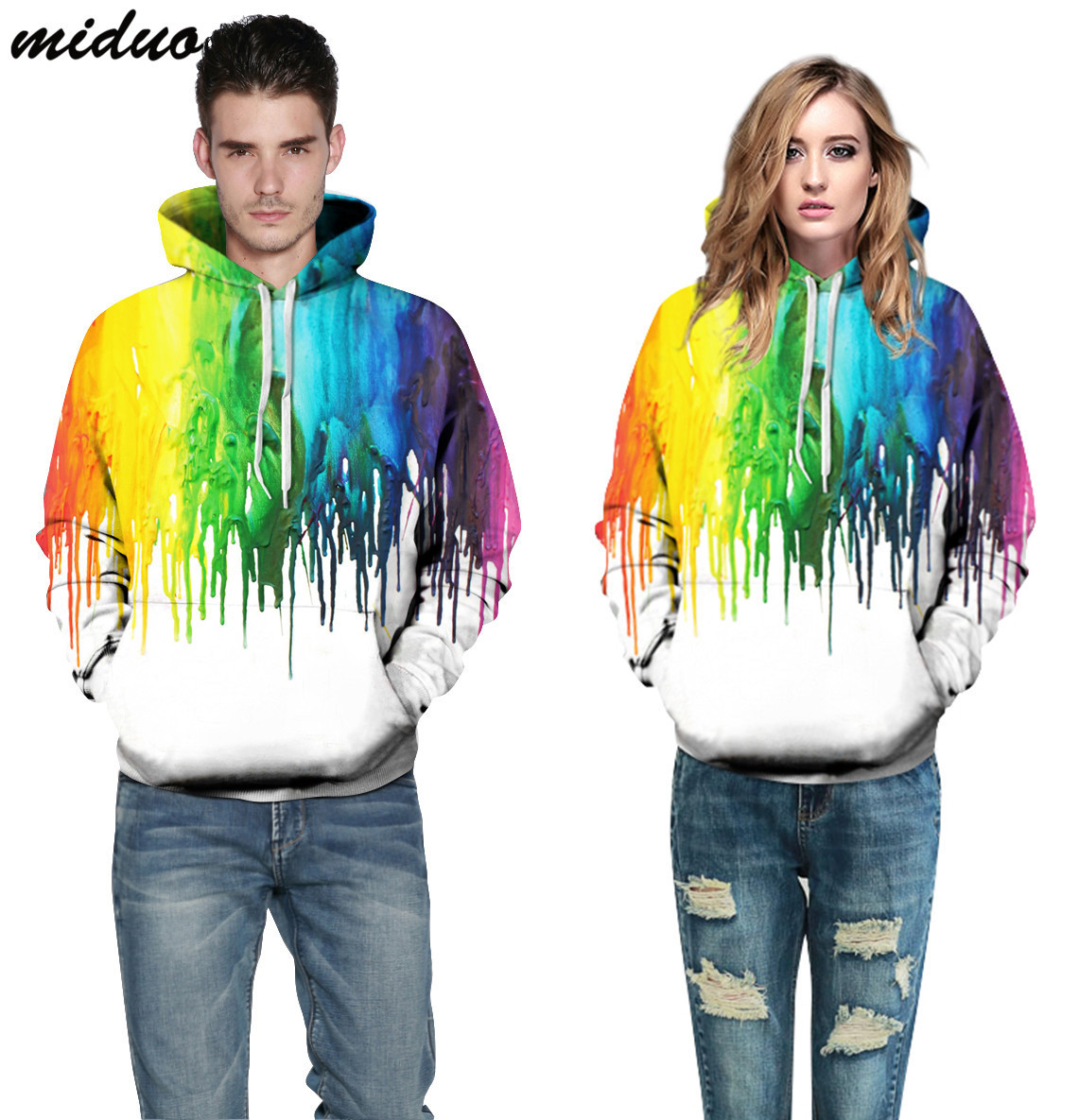 Fashion hoodies for men 3D painting hoodies white Sweatshirts long sleeve Pullovers casual jacket tracksuit men
