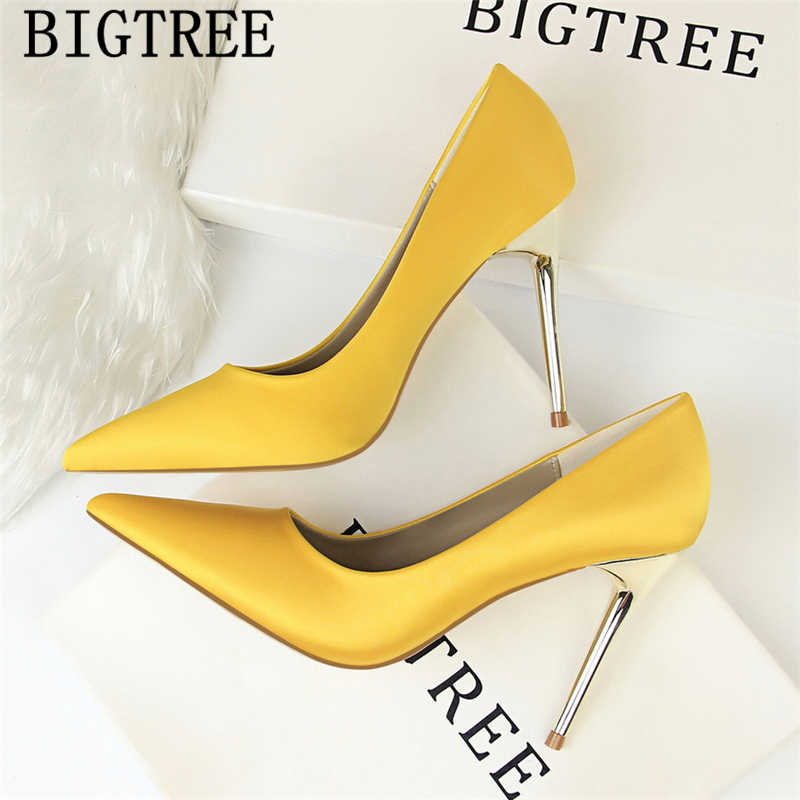 Evening Shoes Black Pumps Dress Shoes Women Pointed Toe High Heels