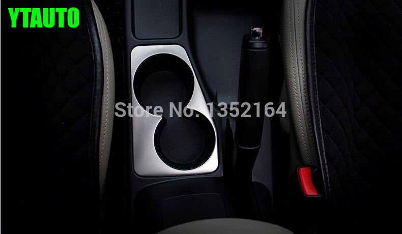 Auto interior moulding , cup holder decorative frame For Mitsubishi Pajero sport 2015