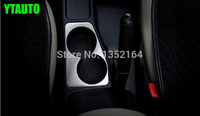 Auto Interior Moulding Cup Holder Decorative Frame For Mitsubishi Pajiero