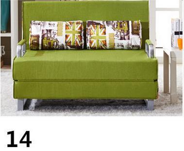 260317/1. 5 м/Высококачественная Металлическая стальная рама/складной диван-кровать/Различные стили/высокая эластичность/домашний многофункциональный диван/ - Цвет: linen
