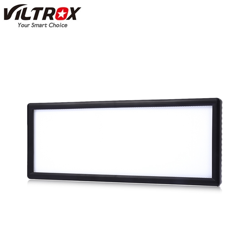 Viltrox L132B LED Video Light Ultra thin LCD Bi-Color & Dimmable DSLR Studio LED Light Lamp Panel for Camera DV Camcorder travor 2 in 1 photography 160 led studio lighting kit dimmable ultra high power panel digital camera dslr camcorder led light