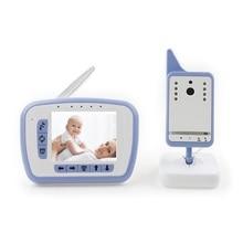 3.5 дюймов видео няня камера младенца допплер ИК Ночного Видения 2 way Обсуждение Колыбельные Температуры Монитор младенца интерком видео няня