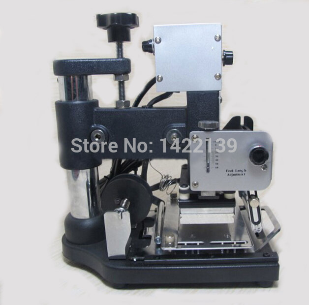 Hot Foil Stamping Machine Tipper Bronzing PVC ID Credit Card 10cm x 13cm guaranteed manual hot foil stamping tipper bronzing machine golden press heat printer stamping machine for pvc card