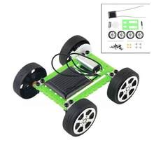 1 Pc Cute Solar Power Robot Toy Solar Power DIY Mini Toy Car Moving Racer Teaching Gadget For Boys Girls Toys Child's Gift(China)
