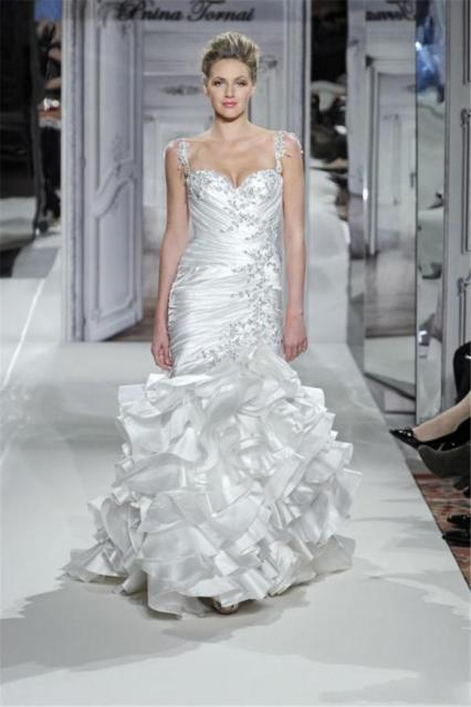 ssj 2015 pnina tornai kleinfeld wedding dresses sweetheart sweep