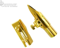 Advanced Henlucky F Series ALTO E Flat Eb SAX Metal Mouthpiece For Saxophone Professional Person GOLD