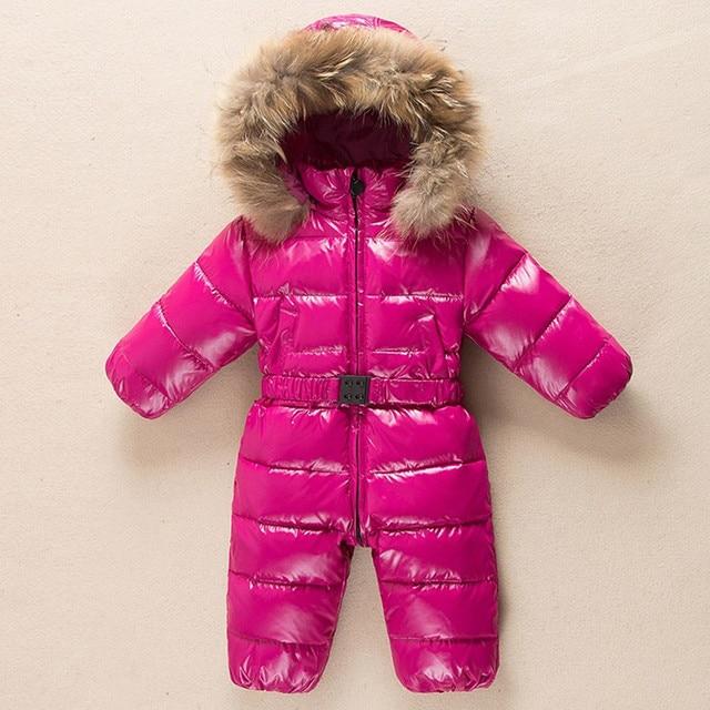 Eccezionale Inverno Tuta Del Bambino Pagliaccetti Neve Indossare abiti Bambini  HC65