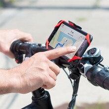 Bicycle Bag Shockproof Bike Phone Bracket strap mobile phone navigation bracket Silicone Adjustable Holder