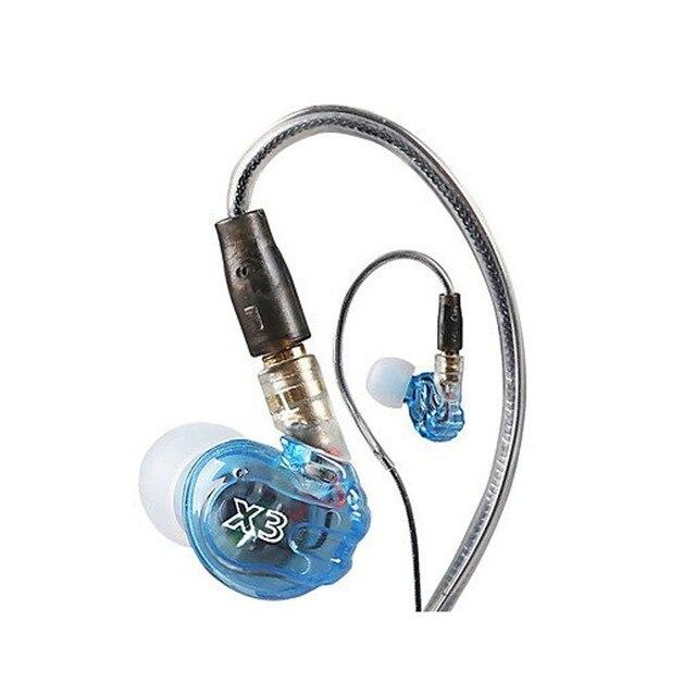 Moxpad X3 Esporte Fone de ouvido Fone De Ouvido Com Microfone Para iPhone iPod Samsung HTC fones de ouvido